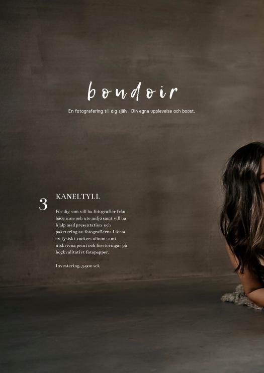 boudoir kaneltyll